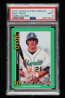 Mike Trout 2010 Cedar Rapids Kernels Rising Alumni Team Issue #3 (PSA 9) at PristineAuction.com