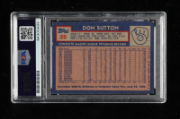 Don Sutton Signed 1984 Topps #35 (PSA Encapsulated) at PristineAuction.com
