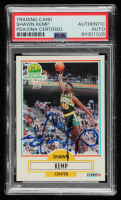 Shawn Kemp Signed 1990-91 Fleer #178 RC (PSA Encapsulated) at PristineAuction.com