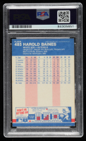 Harold Baines Signed 1987 Fleer #485 (PSA Encapsulated) at PristineAuction.com