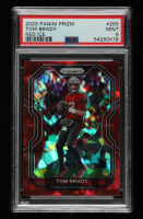Tom Brady 2020 Panini Prizm Prizms Red Ice #255 (PSA 9) at PristineAuction.com