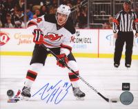 Adam Henrique Signed Devils 8x10 Photo (COJO COA) at PristineAuction.com