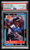 Alan Trammell Signed 1988 Donruss Bonus MVP's #BC11 (PSA Encapsulated) at PristineAuction.com