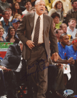 "Lenny Wilkens Signed Knicks 8x10 Photo Inscribed ""Best Wishes"" (Beckett COA) at PristineAuction.com"