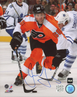 Jaromir Jagr Signed Flyers 8x10 Photo (COJO COA) at PristineAuction.com