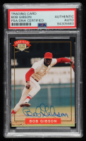 Bob Gibson Signed 1994 Nabisco All-Star Autographs #1 (PSA Encapsulated) at PristineAuction.com