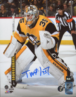 Tristan Jarry Signed Penguins 8x10 Photo (COJO COA) at PristineAuction.com
