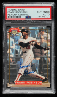 Frank Robinson Signed 1994 Nabisco All-Star Autographs #3 (PSA Encapsulated) at PristineAuction.com
