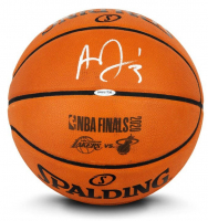 Anthony Davis Signed 2020 NBA Finals Logo Basketball (UDA COA) at PristineAuction.com