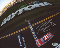 Trevor Bayne Signed NASCAR 8x10 Photo (Beckett COA) at PristineAuction.com