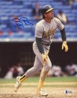 Billy Beane Signed Athletics 8x10 Photo (Beckett COA) at PristineAuction.com