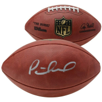 "Patrick Mahomes Signed ""The Duke"" Official NFL Game Ball (Fanatics Hologram) at PristineAuction.com"