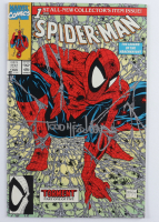 "Todd McFarlane Signed 1990 ""Spider-Man"" #1 Marvel Collector's Item Issue Comic Book (JSA COA) at PristineAuction.com"