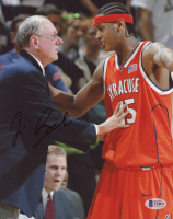 Jim Boeheim Signed Syracuse Orange 8x10 Photo (Beckett COA) at PristineAuction.com
