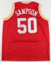 Ralph Sampson Signed Jersey (PSA COA) at PristineAuction.com