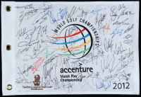 2012 World Golf Champions Golf Pin Flag Signed by (52) with Rory McIlroy, Bubba Watson, Rickie Fowler, Sergio Garcia, Ernie Els (JSA LOA) at PristineAuction.com