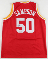 """Ralph Sampson Signed Jersey Inscribed """"HOF 12"""" (PSA COA) at PristineAuction.com"""