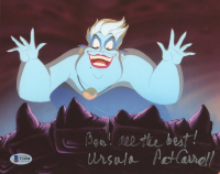 "Pat Carroll Signed ""The Little Mermaid"" 8x10 Photo Inscribed ""Boo! All The Best!"" & ""Ursula"" (Beckett COA) at PristineAuction.com"
