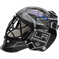 Jonathan Quick Signed Los Angeles Kings Mini Goalie Mask (Fanatics Hologram) at PristineAuction.com