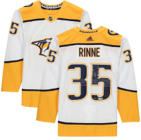 "Pekka Rinne Signed LE Predators Jersey Inscribed ""1st NHL Goal"" (Fanatics Hologram) at PristineAuction.com"