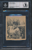 Yogi Berra Signed 1948 Bowman #6 RC (BGS Encapsulated) at PristineAuction.com