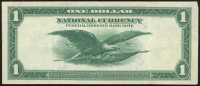 1918 $1 One Dollar U.S. National Currency Large Bank Note - The Federal Reserve Bank of Cleveland, Ohio at PristineAuction.com
