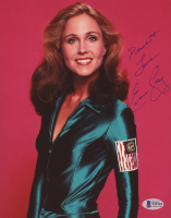 "Erin Gray Signed ""Buck Rogers in the 25th Century"" 8x10 Photo Inscribed ""Peace + Love"" (Beckett COA) at PristineAuction.com"