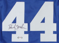 Rick Mahorn Signed Jersey (PSA COA) at PristineAuction.com