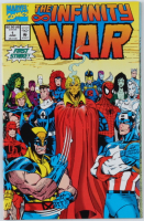 "Vintage 1992 ""The Infinity War"" Vol. 1 Issue #1 Marvel Comic Book at PristineAuction.com"