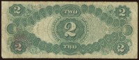 1917 $2 Two Dollar Legal Tender Large Size Bank Note Bill at PristineAuction.com