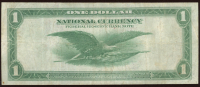 1918 $1 One Dollar U.S. National Currency Large Bank Note - The Federal Reserve Bank of Philadelphia, Pennsylvania at PristineAuction.com
