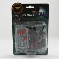 "Robert O'Neill Signed U.S. Navy Seals Figurine Inscribed ""Never Quit!"" (PSA Hologram) (See Description) at PristineAuction.com"