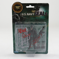 "Robert O'Neill Signed U.S. Navy Seals Figurine Inscribed ""Never Quit!"" (PSA Hologram) at PristineAuction.com"
