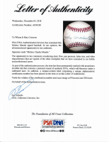 Mickey Mantle Signed OAL Baseball with Rare Full-Name Signature (PSA LOA) (See Description) at PristineAuction.com