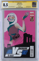 "Stan Lee Signed 2012 ""Avengers VS. X-Men"" Issue #1 Marvel Comic Book (CGC Encapsulated - 8.5) at PristineAuction.com"