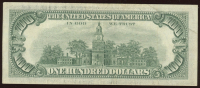 1966 $100 One-Hundred Dollar Red Seal U.S. Bank Note Bill at PristineAuction.com