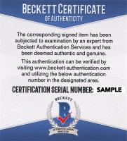 Art Donovan Signed 2005 Upper Deck Legends #50 (Beckett COA) at PristineAuction.com
