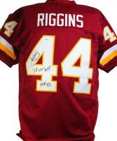 "John Riggins Signed Jersey Inscribed ""SBXVII MVP"" & ""HOF '92"" (Beckett COA) at PristineAuction.com"