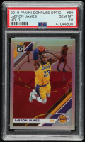 LeBron James 2019-20 Donruss Optic Holo #60 (PSA 10) at PristineAuction.com