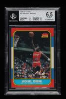 Michael Jordan 1986-87 Fleer #57 RC (BGS 6.5) at PristineAuction.com