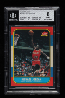 Michael Jordan 1986-87 Fleer #57 RC (BGS 6) at PristineAuction.com