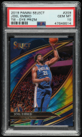 Joel Embiid 2019-20 Select Prizms Tie Dye #209 (PSA 10) at PristineAuction.com