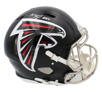 Russell Gage Signed Falcons Full-Size Authentic On-Field Speed Helmet (Radtke COA) at PristineAuction.com