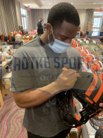 Nick Chubb Signed Browns Full-Size Authentic On-Field Eclipse Alternate Speed Helmet (Radtke COA) at PristineAuction.com