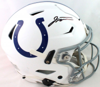 Jonathan Taylor Signed Colts Full-Size Authentic On-Field SpeedFlex Helmet (Fanatics Hologram) at PristineAuction.com
