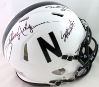 """Johnny Rodgers, Mike Rozier, & Eric Crouch Signed Nebraska Cornhuskers """"Heisman Trophy"""" Full-Size Authentic On-Field Speed Helmet (JSA COA) at PristineAuction.com"""