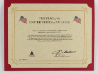American Flag Flown Over the Capitol on January 28, 2021 (Architect of the Capitol COA) at PristineAuction.com