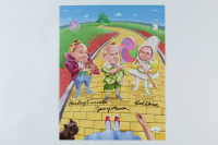 """Mickey Carroll, Jerry Maren, & Karl Slover Signed """"The Wizard of Oz"""" 11x14 Photo (JSA COA) at PristineAuction.com"""