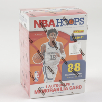 2020-21 Panini NBA Hoops Basketball Blaster Box with (11) Packs (See Description) at PristineAuction.com