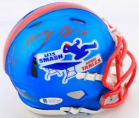 "John ""Smokey"" Brown Signed Bills Speed Mini Helmet (Beckett COA) at PristineAuction.com"